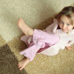 Когда ребёнку на полу комфортно