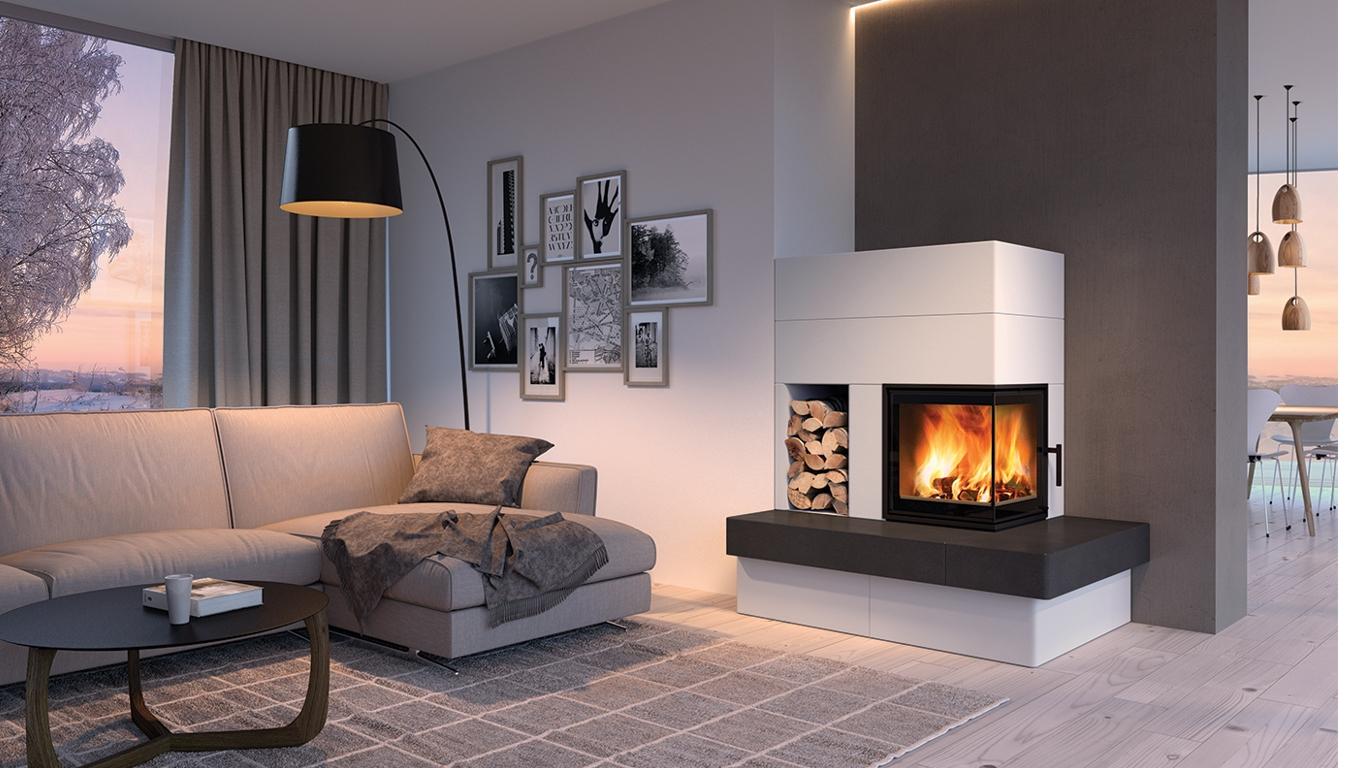 Как правильно сочетать натяжной потолок и камин: рекомендации ... | 768x1366