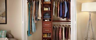 Удобство кроется в деталях – гардероб экономит много места в домах и квартирах