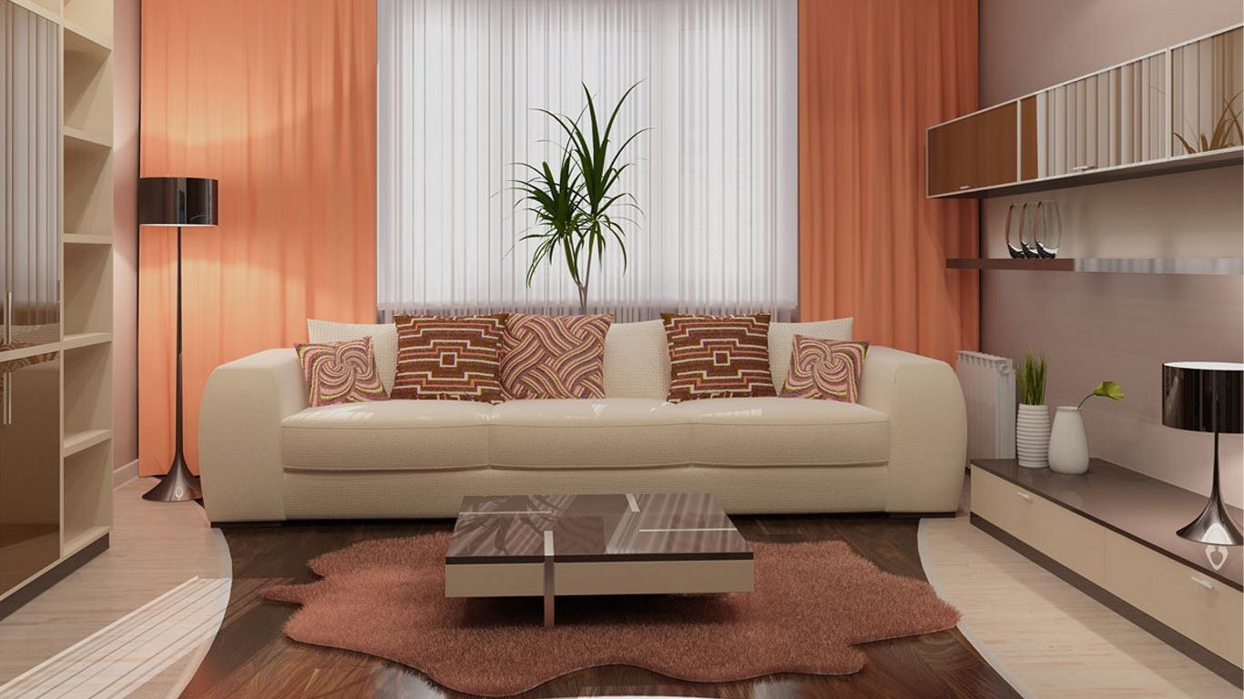 С какими цветами сочетается персиковый цвет в интерьере 45 фото