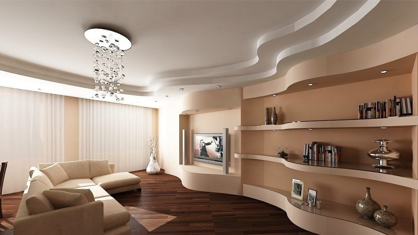 Виды потолков в квартире